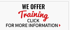 We Offer Training