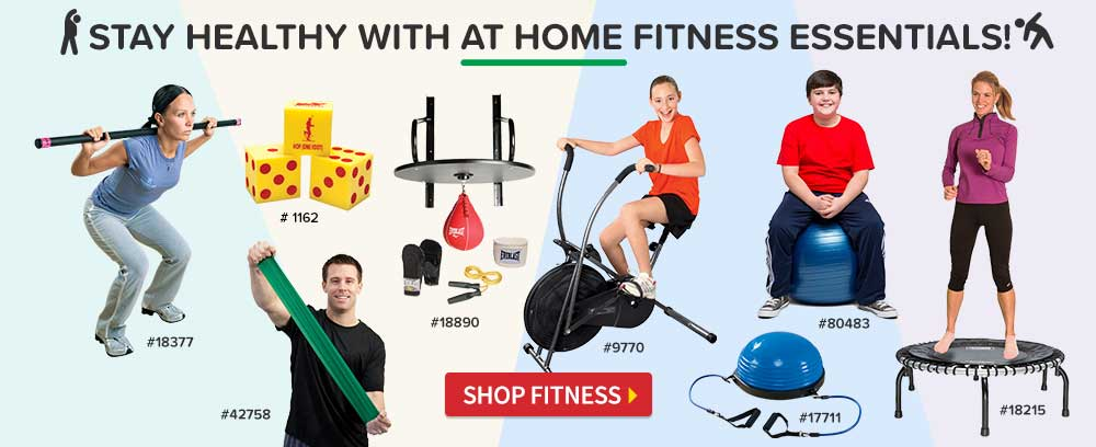 At Home Fitness Essentials