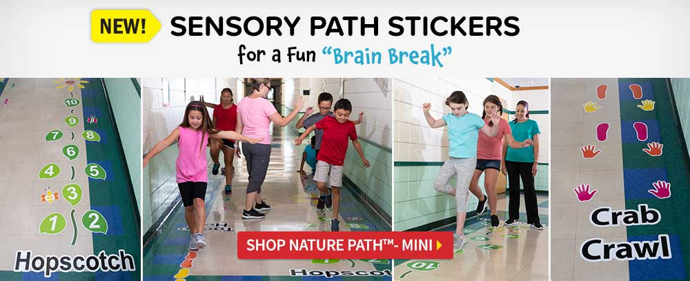 Sensory Path Stickers