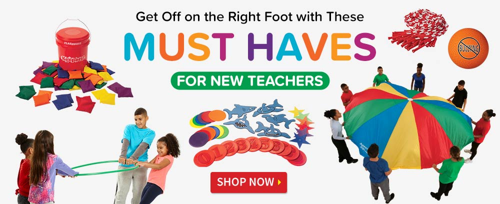 Must Haves for New PE Teachers