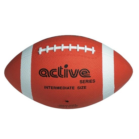FLAGHOUSE Active Series Intermediate Size Rubber Football
