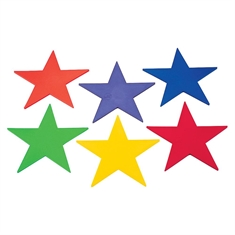 Spot Markers - Star Set of Six