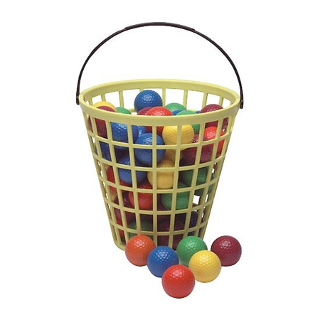 Golf Balls - Bucket O' Colored Balls