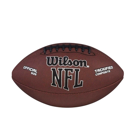 WILSON Composite Leather Football - Official Size