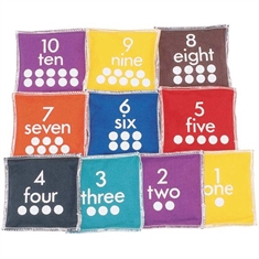 Numbered Beanbag Set