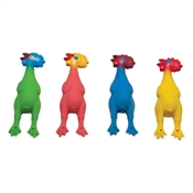 Colored Rubber Chicken Set