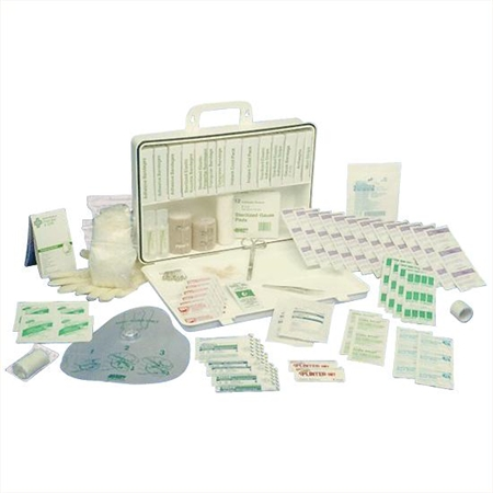 Hard Case First Aid Kit for 50 People