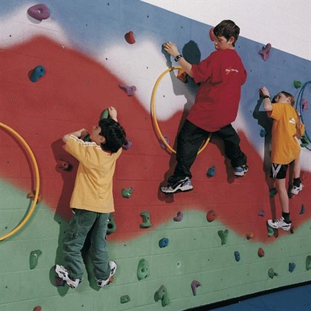 Traverse Climbing Wall Kit - 24'L x 8'H