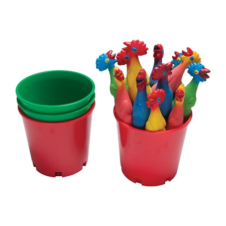 FLAGHOUSE Colored Bucket of Chicken Set