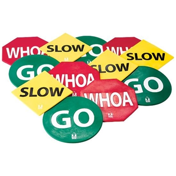 CATCH® Go Slow Whoa® Spot Markers | FlagHouse