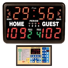 Indoor AC Powered Multi - Portable Scoreboard