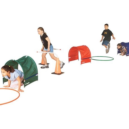 FLAGHOUSE Mini Crawl Tunnel Set