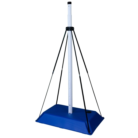 BLUE SPORT Volleyball Base - 8'H Pole