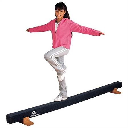 KIDNASTICS 8' Carpeted Balance Beam