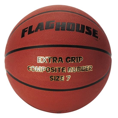 FLAGHOUSE Extra Grip Rubber Women's / Intermediate - Size 6 BasketballEasy Grip Basketball - Size 6