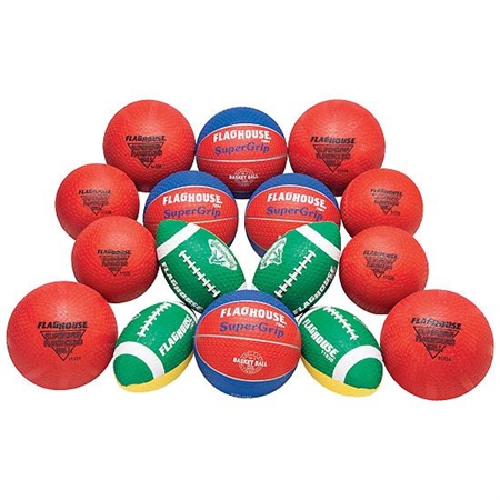 FLAGHOUSE SuperGrip Youth Ball Set