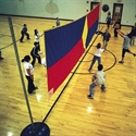 FLAGHOUSE Look - Up Volleyball Net