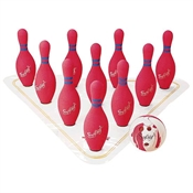 FLAGHOUSE Full - Size Weighted Foam Bowling Set