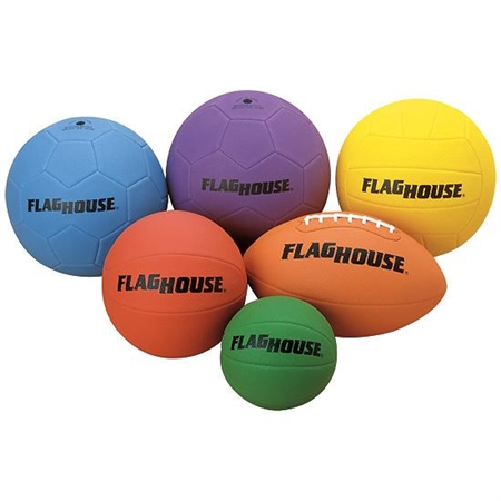 FLAGHOUSE S - F Series 6 - Piece Ball Set