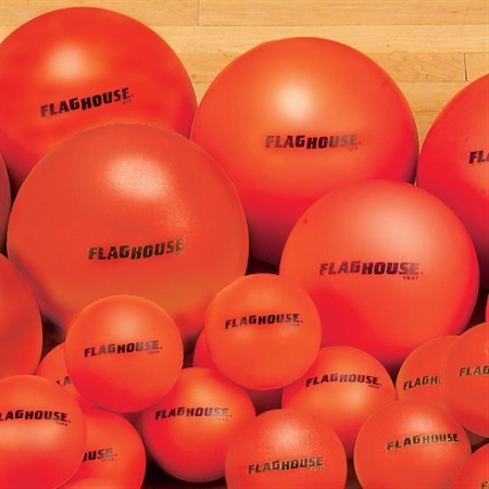FLAGHOUSE 6'' COLOR - BRITE Coated Foam Ball Set