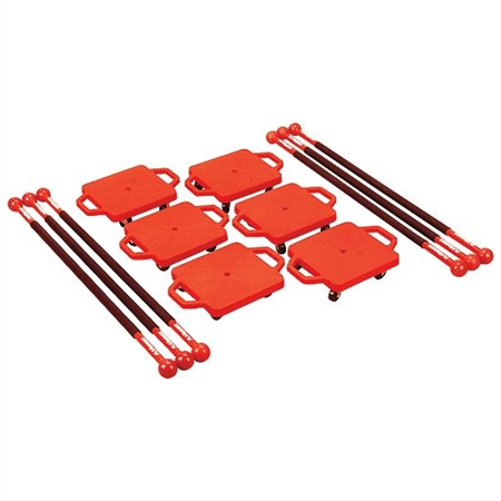 Scooter Paddle Set - Red