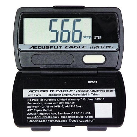 ACCUSPLIT AE2720 Step Counting Pedometer