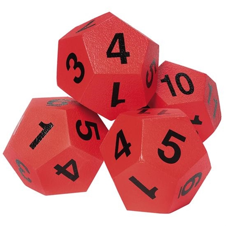Math Ball Bonus Set - Kids Special Needs Numbers And Counting Materials
