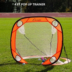 Pop Up Lacrosse Goal - 4' X 4'