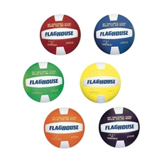 FlagHouse Synthetic Leather Volleyball Set