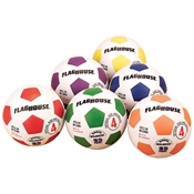 FlagHouse Rubber Soccer Ball Set - Size #5