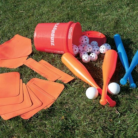 FLAGHOUSE Indoor / Outdoor Plastic Baseball Set
