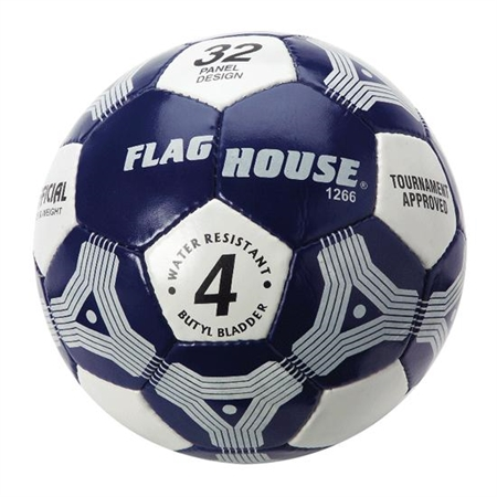 FLAGHOUSE Hand - Stitched Intramural Soccer Ball - #4