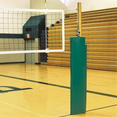 BISON Match Point 3.5'' Volleyball Standards with Winch Only