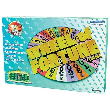 Wheel of Fortune Board Game | FlagHouse