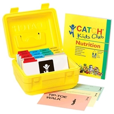 CATCH® Kids Club Grades K - 5 Nutrition Manual & Activity Box Set