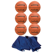 FlagHouse Active Series Rubber Basketball Set - #7