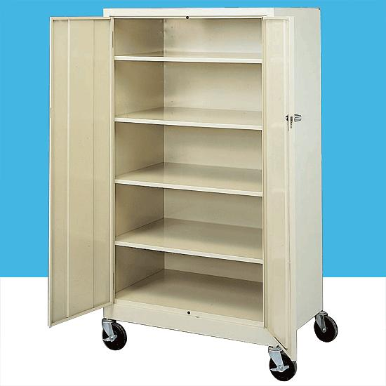 Mobile Storage Cabinets - 35u0026&;#39;u0026&;#39; General Storage  sc 1 st  Flaghouse & Mobile Storage Cabinets - 35u0027u0027 General Storage | FlagHouse