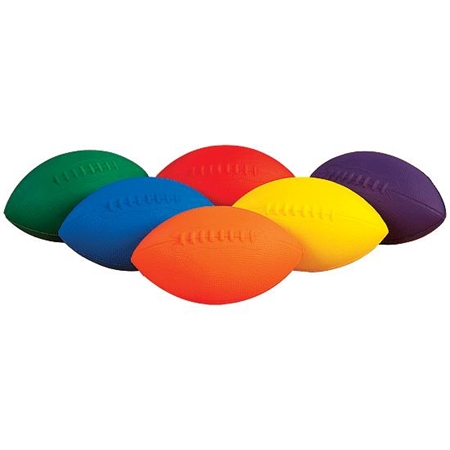 Flying Colors® Foam Football Set