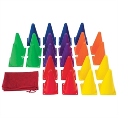 "FlagHouse Medium - Weighted 9"" Cones Super Set"