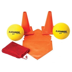 FlagHouse® Deluxe Three-Ply Kickball Set