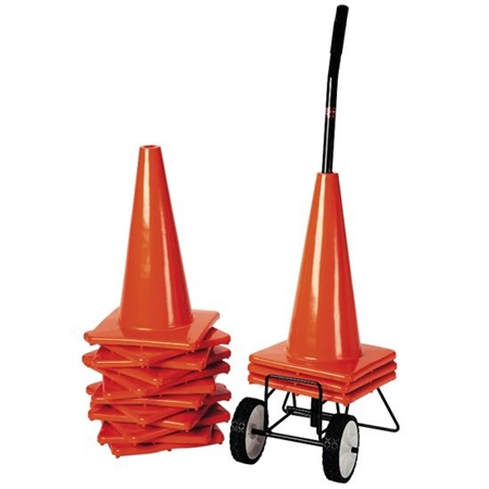 FLAGHOUSE 18' Orange Weighted Cone Super Set