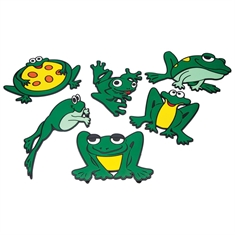 Poly Frog Markers Set