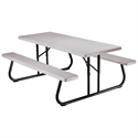 LIFETIME® Folding Picnic 6' Table