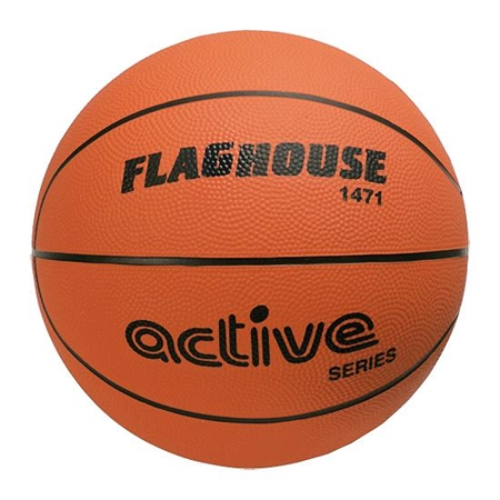 FlagHouse Rubber Active Series Basketball #6