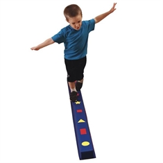 WeeKidz® Balance Beam - Single Beam - Shapes