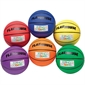 Flying Colors® Extra-Grip Rubber Basketball Set - #7 - Thumbnail 1