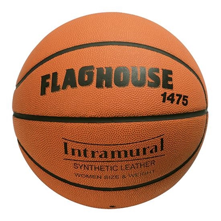 FLAGHOUSE Indoor / Outdoor Synthetic Basketball - Intermediate, Size 6