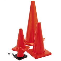 "Extra - Sturdy 6"" Marker Cone - Orange"