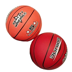 Basketballs in Color - Rubber - Junior - Size 5