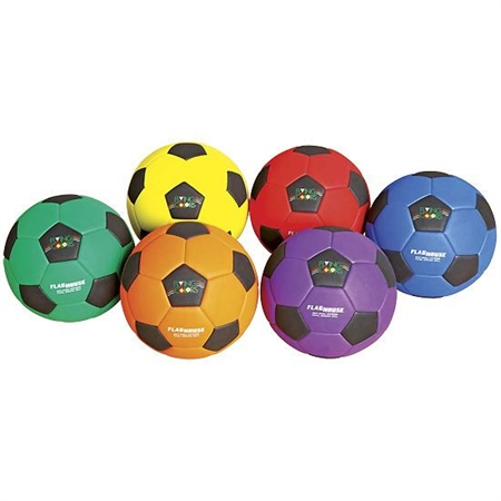 FLYING COLORS� Squish Soccer Ball Set